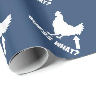 Papier Cadeau Conjecture ce qui ? Bout de poulet