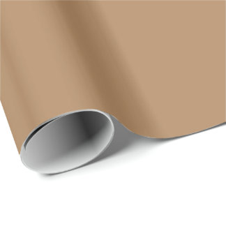 Papier Cadeau Couleur solide) BRONZAGE (ou brun clair ~ FONCÉ