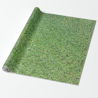 Papier Cadeau Coupez la pelouse d'herbe