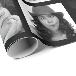Papier Cadeau Créer-Votre-Propre enveloppe de cadeau du collage