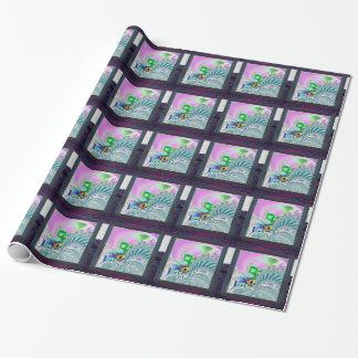 Papier Cadeau Crochet et fractales