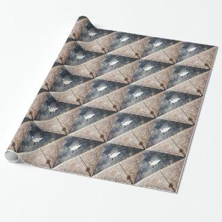 Papier Cadeau Cygne diagonal (2)