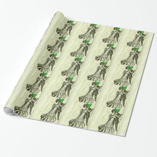 Papier Cadeau Danse de chat