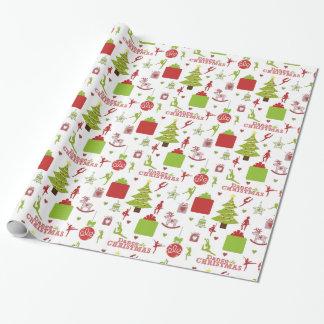 Papier Cadeau Dansez ce papier d'emballage de Noël