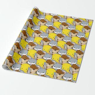 Papier Cadeau ™ de Chibi BUGS BUNNY, TWEETY™, et TAZ™