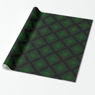 Papier Cadeau Diamants de velours (vert)