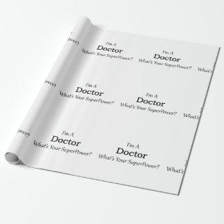 Papier Cadeau Docteur