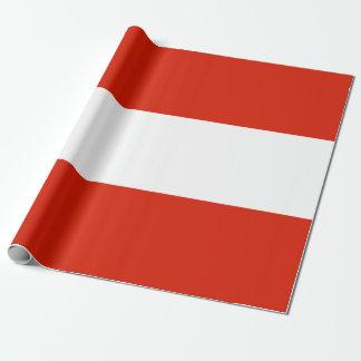 Papier Cadeau Drapeau de l'Autriche