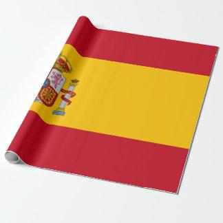Papier Cadeau Drapeau de l'Espagne - le Bandera de Espana