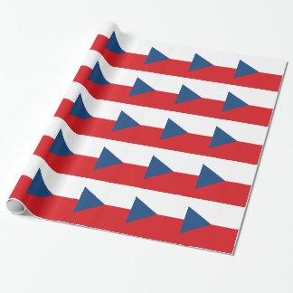 Papier Cadeau Drapeau de République Tchèque