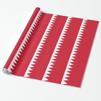 Papier Cadeau Drapeau du Bahrain