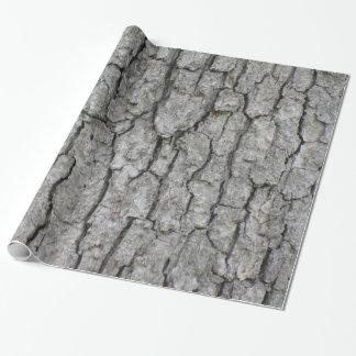 Papier Cadeau Écorce d'arbre