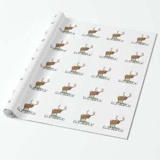 Papier Cadeau Élans-aholic