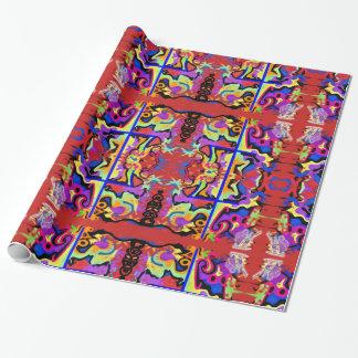 Papier Cadeau Emballage de Dieu 4 Papier-Vivant