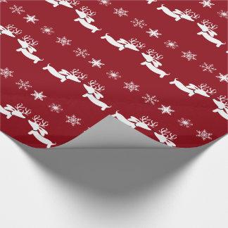 Papier Cadeau Emballage d'enveloppe de cadeau de flocons de
