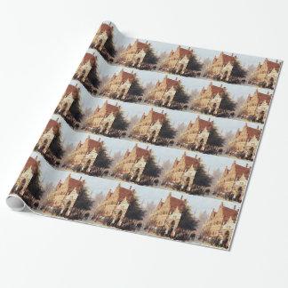 Papier Cadeau En Weeshuis de Kerkegracht à Leyde par Cornelis