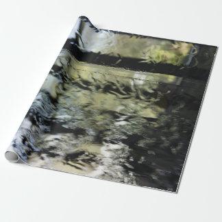 Papier Cadeau Enveloppe de cadeau d'écoulement de l'eau