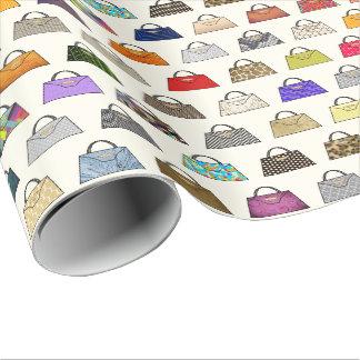 Papier Cadeau Enveloppe de cadeau multicolore de mode de sac à