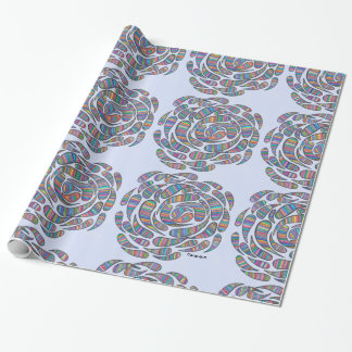 Papier Cadeau enveloppe de roseflows
