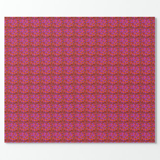 Papier Cadeau Enveloppe, rose et pourpre de cadeau d'édredon de