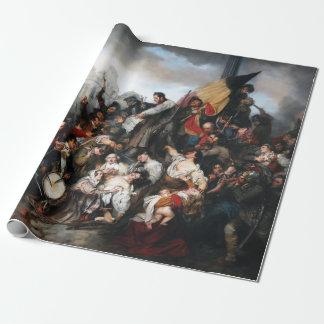 Papier Cadeau Épisode de la révolution belge de 1830