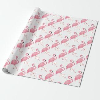 Papier Cadeau Flamant rose