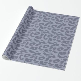 Papier Cadeau Fourrure 7 de peau d'empreinte de léopard