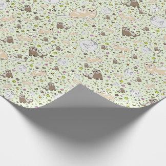 Papier Cadeau Furets
