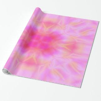 Papier Cadeau Fusée rose