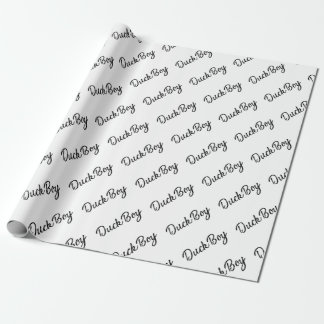 Papier Cadeau Garçon de canard