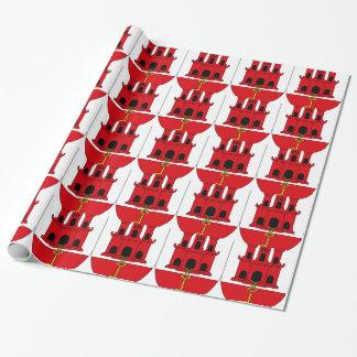 Papier Cadeau Gibraltar_shield