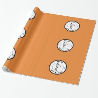 Papier Cadeau Golfeur