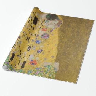 Papier Cadeau Gustav Klimt le cru de GalleryHD de baiser