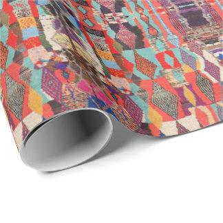 Papier Cadeau HAMbyWG - enveloppe de cadeau - indigène coloré