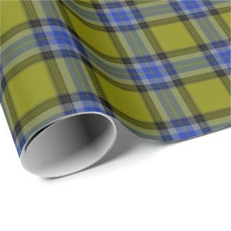 Papier Cadeau HAMbyWG - enveloppe de cadeau - plaid olive de