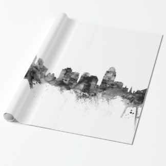 Papier Cadeau Horizon de Cincinnati Ohio