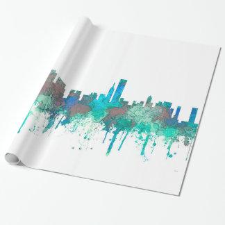 Papier Cadeau Horizon-SG-Jungle de Chicago l'Illinois