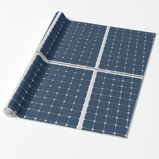 Papier Cadeau Image d'un panneau d'énergie solaire drôle