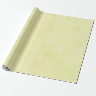 Papier Cadeau Jaune épongé