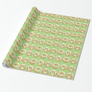Papier Cadeau Joie le papier d'emballage de beignet de Baker