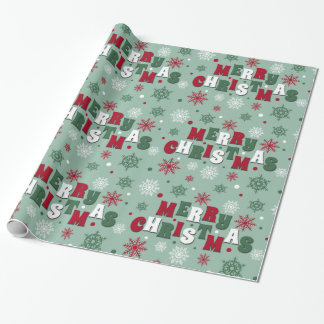 Papier Cadeau Joyeux Noël