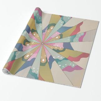 Papier Cadeau Kaléidoscope de fractale