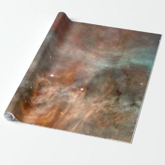Papier Cadeau La NASA de regard de marbre de nébuleuse de Carina