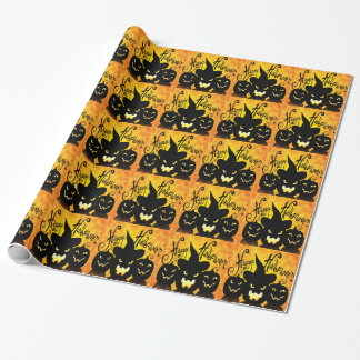 Papier Cadeau Lanternes effrayantes éffrayantes Halloween de