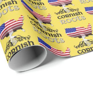 Papier Cadeau L'ascendance américaine cornouaillaise enracine
