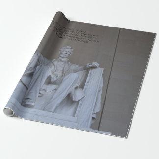Papier Cadeau Le Lincoln Memorial