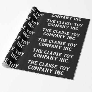 Papier Cadeau Le noir de Clause Toy Company inc. -