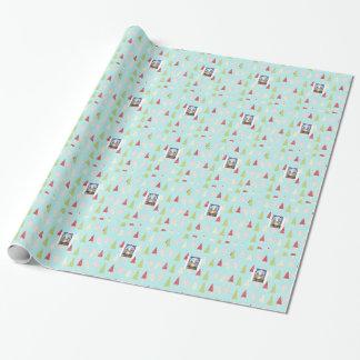Papier Cadeau Le papier d'emballage de Noël d'étoile