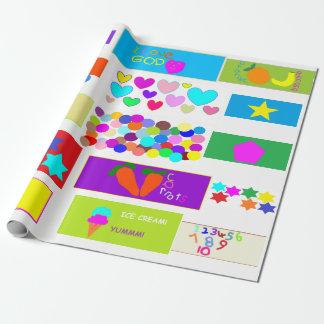 Papier Cadeau Le papier peint chrétien des enfants