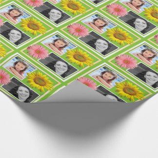 Papier Cadeau Le ressort fleurit l'enveloppe de cadeau